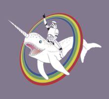 Narwhal Rainbow Kids Tee