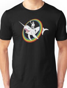 Narwhal Rainbow Unisex T-Shirt