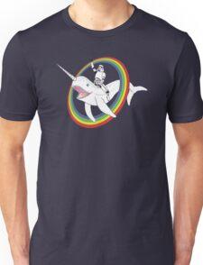 Narwhal Rainbow Unisex T-Shirt