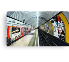 Baker Street Tube Station Canvas Print