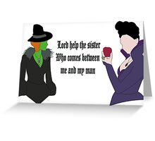 Once Upon a Time Sisters Greeting Card