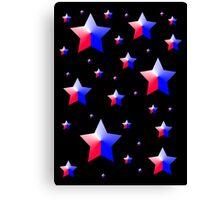 Patriotic Stars Canvas Print