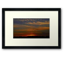 Until you Rise Again Framed Print