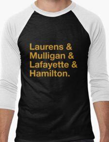 Hamilton Names Men's Baseball ¾ T-Shirt