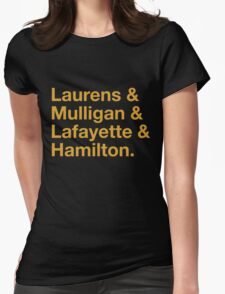 Hamilton Names Womens Fitted T-Shirt