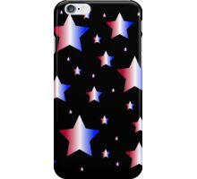 Red, White, and Blue Stars iPhone Case/Skin