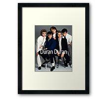 Vintage Duran Duran Band Framed Print