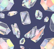 Pastel Geodes Sticker