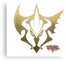 Pentakill Gold and Red Canvas Print