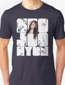 Girls' Generation (SNSD) Seohyun Flower Typography Unisex T-Shirt
