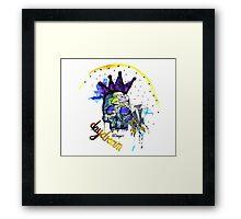 Day Dreamer Skull Framed Print