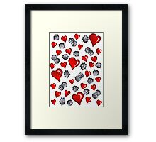 Hearts for Soot Sprites Framed Print