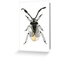 Bug illustrated Greeting Card