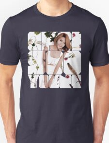 Girls' Generation (SNSD) Sooyoung Flower Typography Unisex T-Shirt