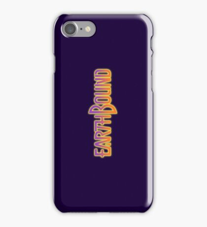 Earthbound Title Screen iPhone Case/Skin
