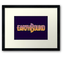 Earthbound Title Screen Framed Print