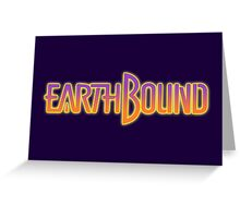 Earthbound Title Screen Greeting Card