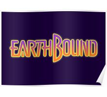 Earthbound Title Screen Poster