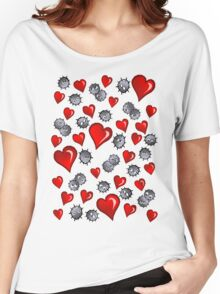 Hearts for Soot Sprites Women's Relaxed Fit T-Shirt