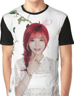 Girls' Generation (SNSD) Sunny Flower Typography Graphic T-Shirt