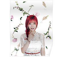 Girls' Generation (SNSD) Sunny Flower Typography Poster