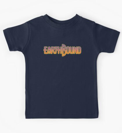 Earthbound Title Screen Kids Tee