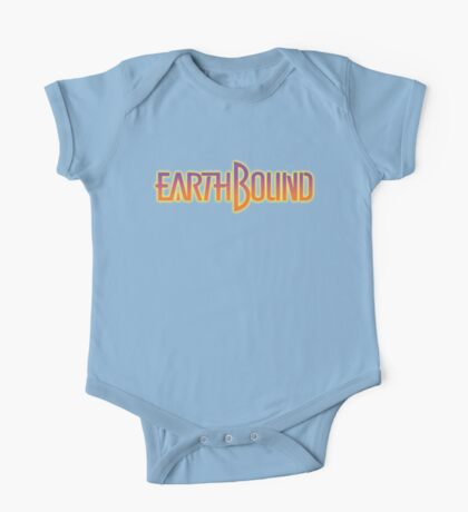 Earthbound Title Screen One Piece - Short Sleeve