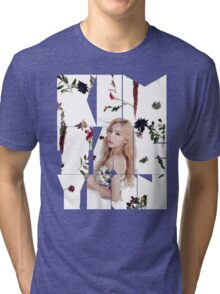 Girls' Generation (SNSD) Taeyeon Flower Typography Tri-blend T-Shirt