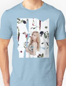 Girls' Generation (SNSD) Taeyeon Flower Typography T-Shirt