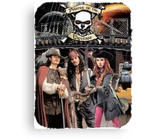 Pirates of the Universe Canvas Print