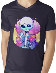 Cutie Sans Undertale Mens V-Neck T-Shirt