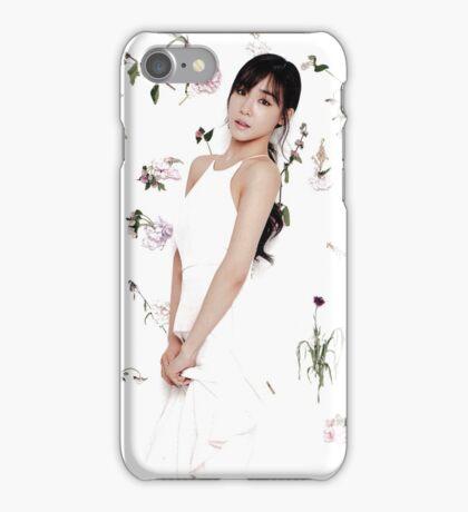 Girls' Generation (SNSD) Tiffany Flower Typography iPhone Case/Skin