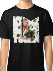 Girls' Generation (SNSD) Yoona Flower Typography Classic T-Shirt