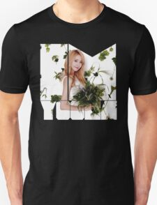 Girls' Generation (SNSD) Yoona Flower Typography Unisex T-Shirt