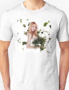 Girls' Generation (SNSD) Yoona Flower Typography Unisex T-Shirt