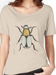 Cool Cute Bug Insect Drawing Women's Relaxed Fit T-Shirt