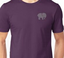 Gray Elephant Unisex T-Shirt