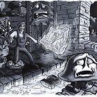 Mario by bwgarlick