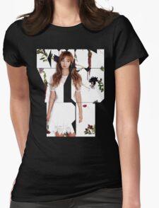 Girls' Generation (SNSD) Yuri Flower Typography T-Shirt