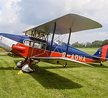 De Havilland DH83 Fox Moth G-ADHA by Colin Smedley