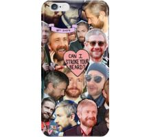 martin freeman beard collage iPhone Case/Skin