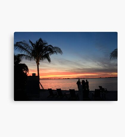 Floridian Sunset Canvas Print
