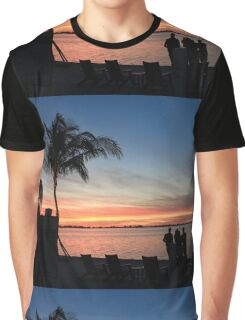 Floridian Sunset Graphic T-Shirt