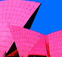 Tickled Pink Sydney Opera House by johnnycdesigns