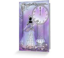 Silhouette Cinderella Greeting Card