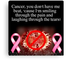 Laughing Through The Tears Canvas Print