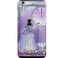 Silhouette Cinderella iPhone Case/Skin