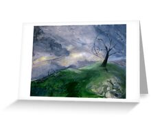 Earth Mother Wakes Greeting Card