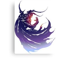 Final Fantasy 4 ds version logo Canvas Print