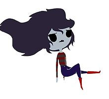 marceline the vampire queen - adventure time by lilstickers
